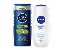 Nivea Dusch Men Energy/ Creme Soft