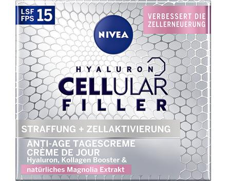 Nivea Hyaluron Cellular Filler Tagescrème LSF 15