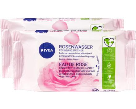 Nivea Reinigungstücher Rosenwasser