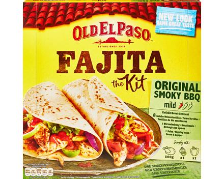 Old El Paso Fajita Kit Original Smoky BBQ
