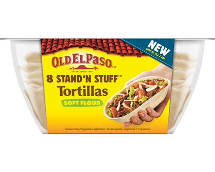 Old El Paso Stand 'n Stuff™ Soft Tortillas
