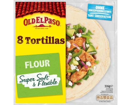 Old El Paso Weizen-Tortillas