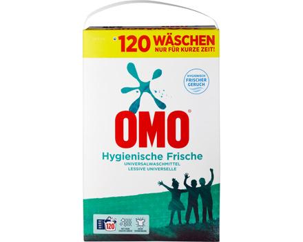 Omo Waschpulver Hygiene