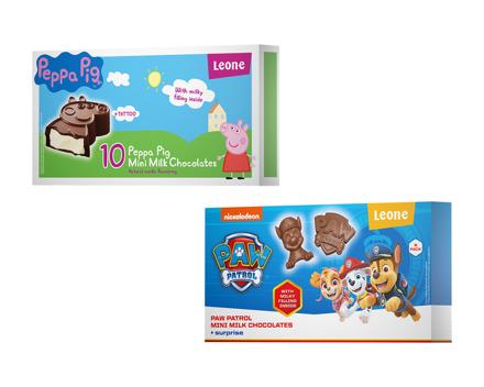 Paw Patrol/Peppa Pig Tafelschokolade