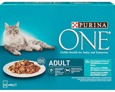 Purina One Wet Adult Fisch