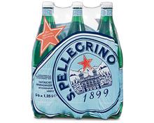 S. Pellegrino mit Kohlensäure, 6 x 1,25 Liter