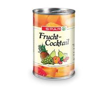 SPAR FruchtCocktail/Ananasscheiben/ Pfirsichhälften