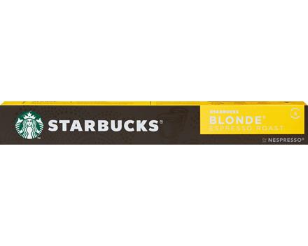 Starbucks by Nespresso® Kaffeekapseln Blonde Espresso Roast