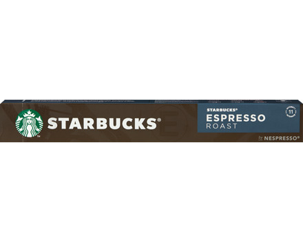 Starbucks by Nespresso® Kaffeekapseln Espresso Roast