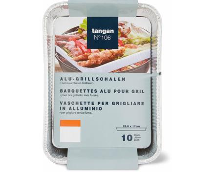 Tangan N° 106 Alu-Grillschalen