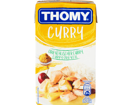 Thomy Sauce orientalischer Curry