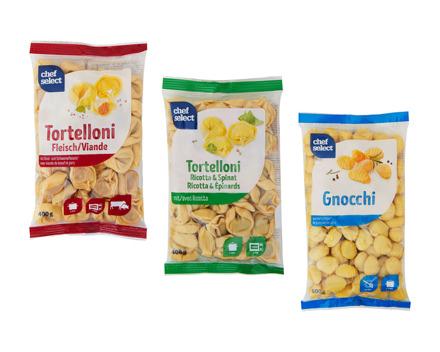 Tortelloni/Gnocchi