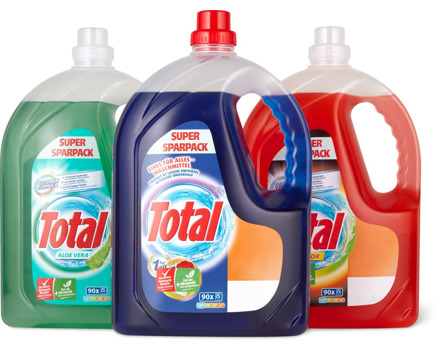 Total Waschmittel, 5 Liter