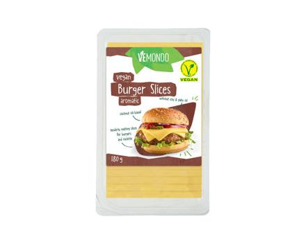 Vegane Burger Scheiben