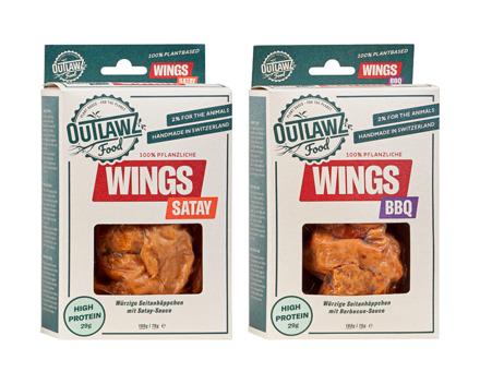 Vegane Seitan Wings