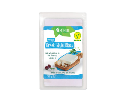 Veganer Block griechischer Style