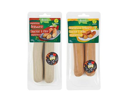 Vegetarische Grillwurst