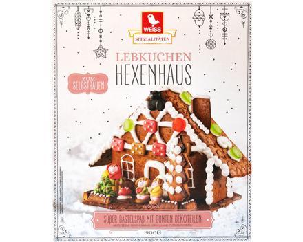 Weiss Hexenhaus