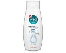 Well Cremedusche Soft & Care, 3 x 250 ml