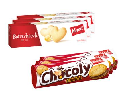 Wernli Chocoly/Butterherzli