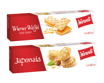 Wernli Japonais/Wiener-Waffel
