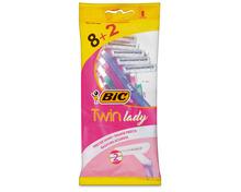 Z.B. Bic Twin Lady Sensitive Einwegrasierer, 8 + 2 Stück 3.15 statt 4.25