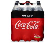 Z.B. Coca-Cola Zero, 6 x 1,5 Liter 8.80 statt 12.60