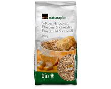 Z.B. Coop Naturaplan Bio-5-Korn-Flocken, 500 g 2.35 statt 2.95
