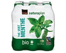 Z.B. Coop Naturaplan Bio-Thé vert Menthe, Fairtrade Max Havelaar, 6 x 50 cl 5.85 statt 8.40