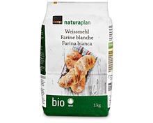 Z.B. Coop Naturaplan Bio-Weissmehl, 1 kg 2.35 statt 2.95