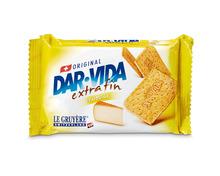 Z.B. Dar-Vida Käse extra fin, 2 x 184 g, Duo 6.05 statt 7.60