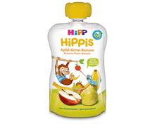 Z.B. Hipp Hippis Apfel-Birne-Banane, im Quetschbeutel, 4 x 100 g 5.70 statt 7.60