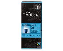 Z.B. La Mocca Decaffeinato, Fairtrade Max Havelaar, 20 Kapseln