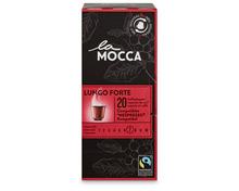 Z.B. La Mocca Lungo forte, Fairtrade Max Havelaar, 20 Kapseln