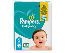 Z.B. Pampers Baby-Dry, Grösse 5, Junior, 40 Stück 12.65 statt 18.90