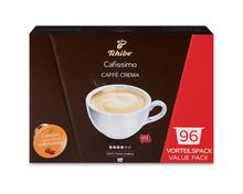 Z.B. Tchibo Cafissimo Caffè Crema, 96 Kapseln 20.90 statt 29.90