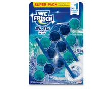 Z.B. WC Frisch Blau Kraft-Aktiv Ozean, 3 x 50 g, Multipack 7.90 statt 11.85
