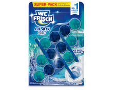 Z.B. WC Frisch Blau Kraft-Aktiv Ozeanfrische, 3 x 50 g, Multipack 7.80 statt 11.85