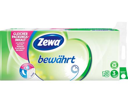 Zewa Toilettenpapier 3 lagig weiss, bewährt