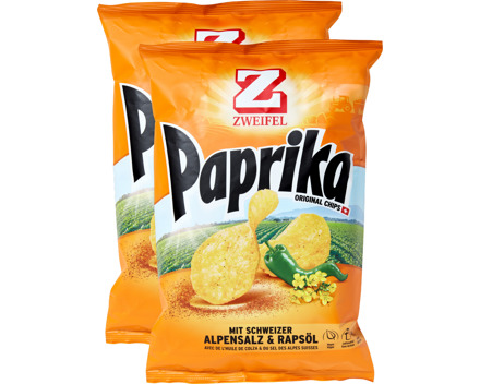 Zweifel Original Chips Paprika