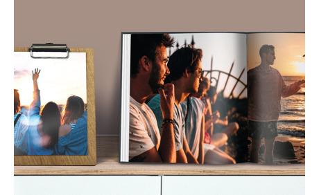 20% Rabatt auf alle Fotoprodukte von Bookfactory!