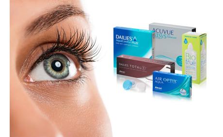 20.- Rabatt auf Kontaktlinsen