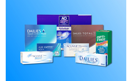 25% Rabatt auf alle Kontaktlinsen & Pflegemittel