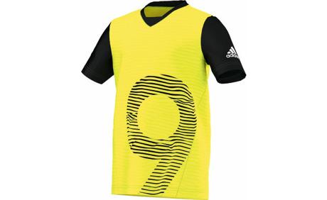 big sale e81ca fa259 Adidas Locker Room Performer Chaos Tee Kinder-Fussballshirt