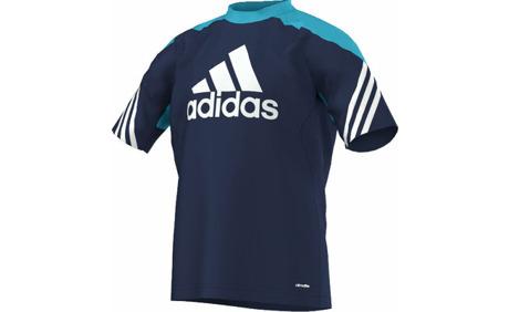 pretty nice 4df9f 27a46 Adidas Sereno14 Training Jersey Youth Kinder-Fussballshirt