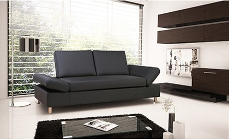 bettsofa aus stoff 210cm von der deluxe moebel gmbh in. Black Bedroom Furniture Sets. Home Design Ideas