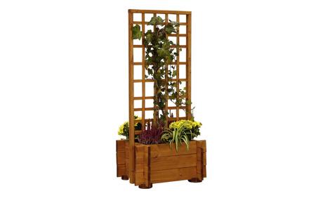 blumenkasten mit spalier hofgarten otto 39 s webshop ab. Black Bedroom Furniture Sets. Home Design Ideas