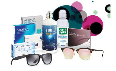 CHF 15.- für Kontaktlinsen & Co. bei Lensvision