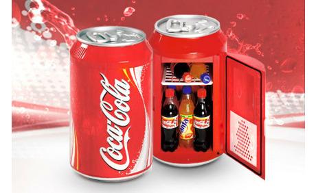 Kleiner Kühlschrank Cola : Coca cola minikühlschrank rabatt deindeal ab