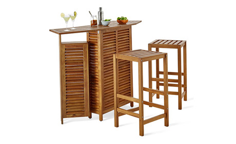 garten bar mit 2 hockern tchibo ab. Black Bedroom Furniture Sets. Home Design Ideas
